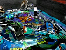 Screenshot from Dream Pinball