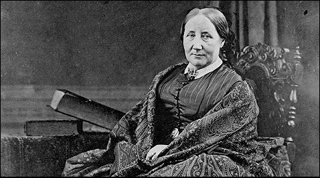 Elizabeth Gaskell. Copyright John Rylands University Library
