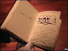 Handmade copy of Tales of Beedle the Bard