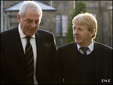 Walter Smith and Gordon Strachan