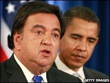 Bill Richardson with Barack Obama