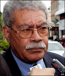 File image of ousted Fijian Prime Minister Laisenia Qarase