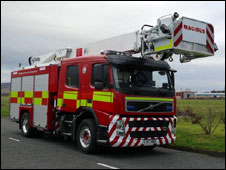combined fire vehicle