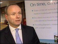 Barnet Council leader Mike Freer