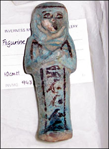 Egyptian figurine