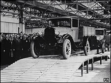 Ford factory in Dagenham, 1931