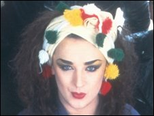 Boy George in 1983