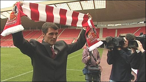 Roy Keane taking over at Sunderland in 2006