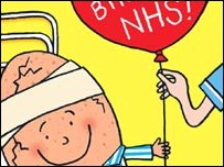 Nick Sharratt's NHS illustration