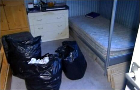 Michael Donovan's flat