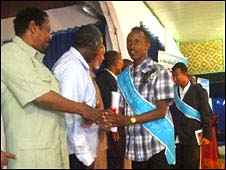 Doctors graduate in Mogadishu