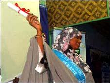 Doctor graduates in Mogadishu