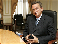 Riad Salameh, the governor of Lebanon's Central Bank
