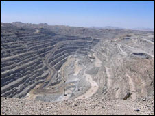 Rossing Uranium Mine in Arandis, Namibia (Credit: Penny Dale)