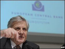 European Central Bank (ECB) Chairman Jean-Claude Trichet