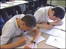 Boys in class