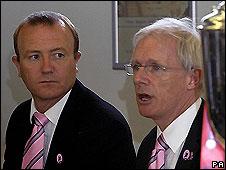 Shaun Udal and Vinny Codrington