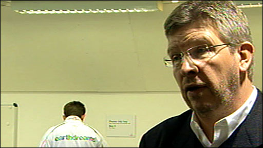 Honda team principal Ross Brawn