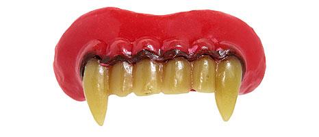 Fanged teeth