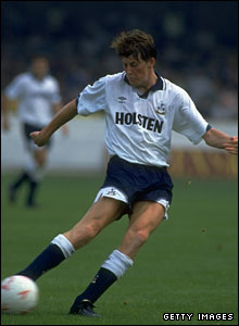 An early game for Tottenham in 1992
