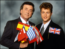 Terry Wogan in 1992 with Michael Ball
