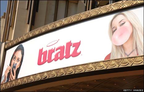 Billboard for Bratz: The Movie