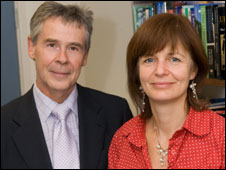 Melanie Powell and Derek Fry