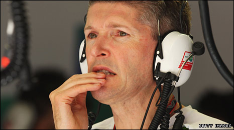 Honda F1 chief executive Nick Fry