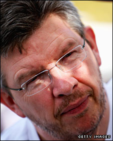 Honda Racing Team Principal Ross Brawn