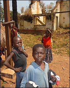 Children in Bossangoa