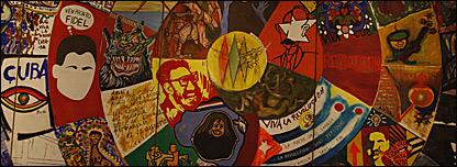 Mural del Sal�n de Mayo de 1967  Foto: Manuel Toledo, BBC Mundo