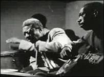 Imagen del documental P.M., de Sab� Cabrera Infante y Orlando Jim�nez Leal