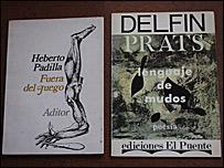 Fuera de Juego, de Heberto Padilla, edici�n argentina, y Lenguaje de mudos, de Delf�n Prats, edici�n espa�ola.