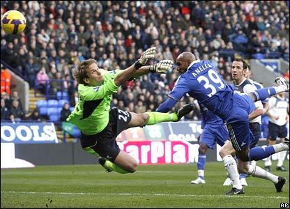 Jussi Jaskalainen, Bolton Wanderers; Nicolas Anelka, Chelsea