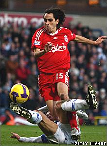 Stephen Warnock, Blackburn Rovers; Yossi Benayoun, Liverpool
