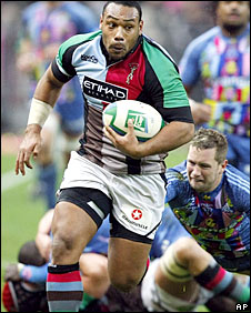 Harlequins centre Jordan Turner-Hall