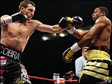 Carl Froch (left) and Jean Pascal