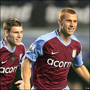 James Milner, Steve Sidwell, Aston Villa