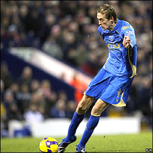 Peter Crouch, Portsmouth
