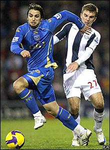 Nico Krancjar, Portsmouth; James Morrison, West Bromwich Albion