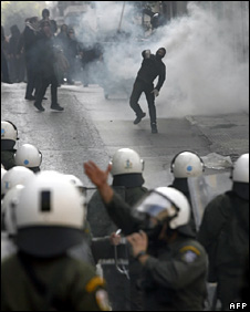 Riots in Athens (7 December 2008)