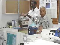 Laboratorio de biotecnolog�a en Cuba