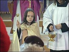 Ophelia at St John's Church