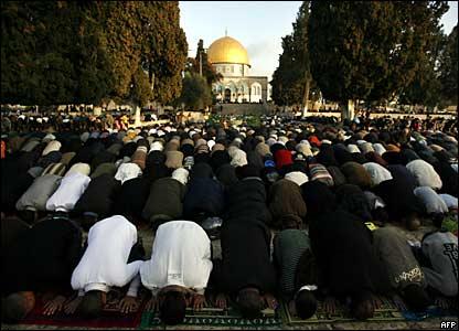 المسلمون وعيد الاضحى _45278602_aqsa_mosque_afp