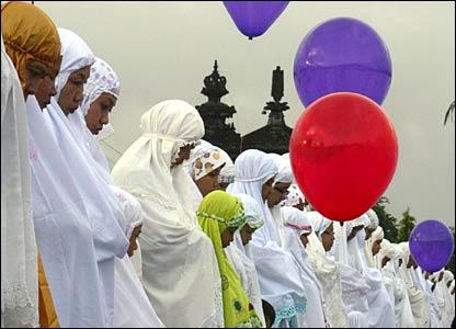 المسلمون وعيد الاضحى _45278613_indonesia_bali