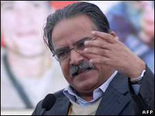 Prachanda. File pic.