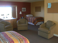 Room at the Life Healing Centre (LHC) in Santa Fe
