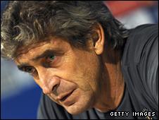 Villarreal coach Manuel Pellegrini