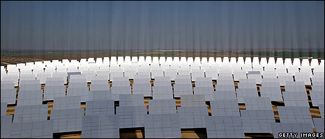 Solar mirrors (Getty Images)