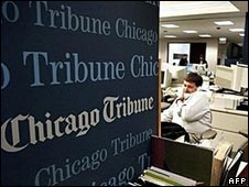 Offices of the Chicago Tribune